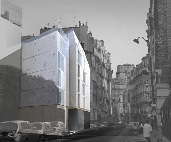 construction immeuble 15 logements - Paris 15